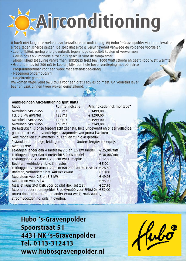 Acties airconditioning